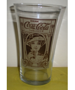 VINTAGE STYLE Coca-Cola COKE The Archives FLAIR SHAPED COLLECTOR'S GLASS  - $9.50
