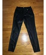 HUE WOMEN'S BLACK LEGGINGS SIZE M - $29.69