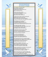 Heavenly Daydreams - Printable Poetry Instant Download - $1.98