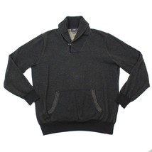 J Crew Pullover Sweater Adult Large Cowl Neck Kangaroo Pocket Long Sleeve $89 - $26.38