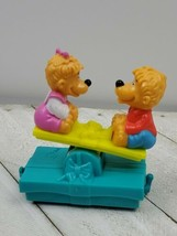 1994 McDonald's the Berenstain bears happy meal toy - Train Piece (M) - $5.54