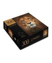 """Lion Face Design Jigsaw Puzzle 300 pc Durable Fit Pieces 11"""" x 16"""" Complete image 2"""