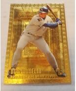 1995 Topps Embossed Golden Idols Royals Baseball Card #117 Bob Hamelin - $1.00