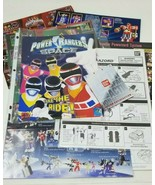 Collection of 1990s Power Rangers Advertisements Instructions Megazord T... - $14.84
