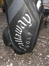 Black Leather Callaway Yin Yan Golf Bag - $800.00