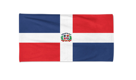 Dominican Republic Flag Beach Towel Pool Towels Holiday Towels Gym Towel - $24.99+