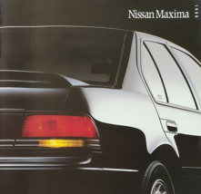 1990 Nissan MAXIMA sales brochure catalog US 90 GXE SE - $8.00