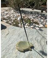 Chinese Soapstone Carved Turtle Incense Burner Holder Spirit Animal Heal... - $31.78