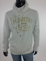 Diesel New Men's Snotra-Rs Sweat Jumper Size S Color White Retail 122 Euro - $51.48