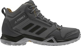 adidas Terrex AX3 Mid GORE-TEX Hiking Shoe (Men's) in Grey Five/Black/Me... - $159.34