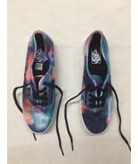 VANS Authentic Multi Color Shoes Size Mens 8.5 Womens 10.00 - $12.85