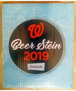 Washington Nationals Beer Stein - 2019 - In Box! FREE SHIPPING!!! - $14.79