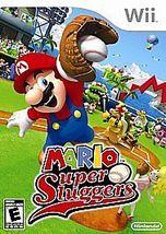 Mario Super Sluggers (Nintendo Wii, 2008) Video Game Complete - $19.89