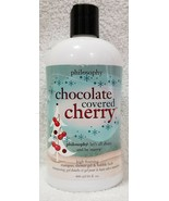 Philosophy CHOCOLATE COVERED CHERRY Shampoo Shower Gel Bubble 16 oz/480m... - $29.69