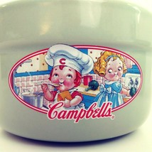 Campbell's Kids Collectible Soup Bowls (2) by Houston Harvest Jade Green... - $15.44