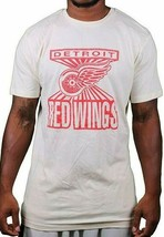 Mitchell & Ness Detroit Red Wings Home Advantage Cream T-Shirt