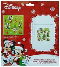 Disney Holiday Joy Refrigerator Magnet With Mickey Mouse, Minnie Mouse, ... - $15.42