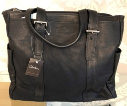 Cole Haan Black Zip Top Tote $650 Nwt Style #A11113 - $311.97