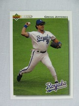 Gregg Jefferies Kansas City Royals 1992 Upper Deck Baseball Card 725 - $0.98