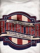 United States Of America Established1776 Tshirt Lg NWOT - $5.00