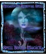 Spell Bound Magick Witches Triple Cast Psychic Spell to Remove Negative ... - $100.00