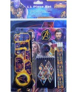 AVENGERS INFINITY WAR 11-Pc. Value Pack Back-to-School Stationery Supply... - $11.87