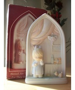 """1992 Precious Moments L.E. Chapel Exclusive """"Blessed Are That Mourn"""" Fig... - $30.00"""