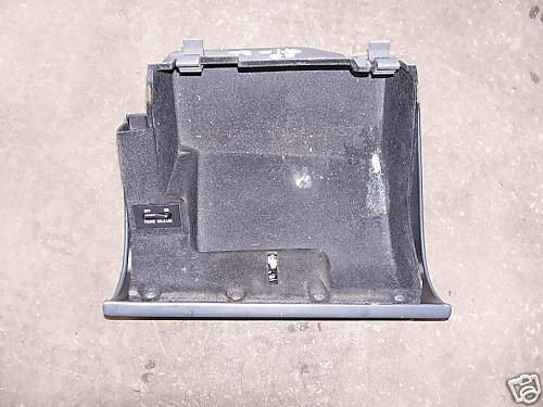 97-98-99 olds 88 blue glove box assembly