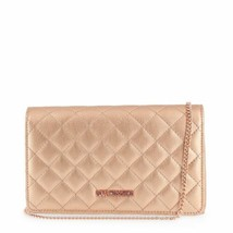 Love Moschino Rose Gold Quilted clutch - $173.42 CAD