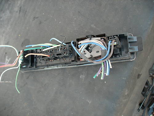 97-99 lesabre master window switch assembly