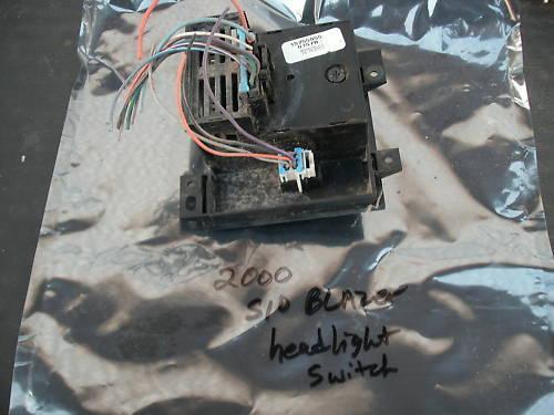 98-05 s10/s15 blazer/jimmy headlight switch