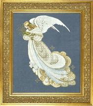 Angel of Dreams cross stitch Lavendar & Lace Marilyn Leavitt-Imblum - $12.60