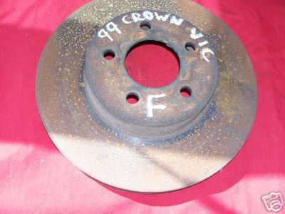 99 Crown Victoria Front Rotor Disc