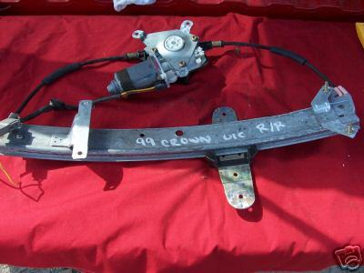 99 Crown Victoria Right Rear Regulator & Motor