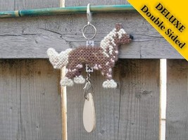 Chinese Crested Hairless Deluxe crate tag, hang anywhere art, agility dog show - $23.00