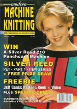 Modern Machine Knitting Aug 1995 Magazine Mohair Dress, Daisy Patterned ... - $7.12
