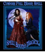 Triple Cast Custom Full Moon Spell Cast By Psychic Witches Love Money Legal - $75.00