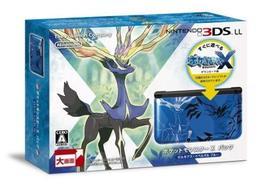 NINTENDO 3DS LL Pocket Monsters X pack Xerneas Yveltal Blue (Japanese Re... - $210.71