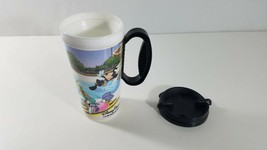 Disney Parks Thermal Mug Let The Memories Begin Whirley Minnie Mickey Goofy Ec - $8.91