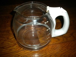 Mr. Coffee White 12 Cup Glass Carafe Replacement - $9.90