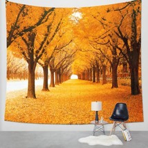 Forest Scenery Tapestry Wall Hanging Sandy Beach Picnic Throw Rug Blanke... - $160,71 MXN