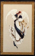 Angel of Hope cross stitch Lavendar & Lace Marilyn Leavitt-Imblum - $10.80