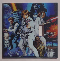 Star Wars Characters Old Poster Light Switch Outlet wall Cover Plate Home decor image 6