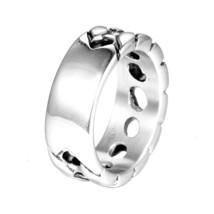 316L Stainless Steel  Ring Letter Signet Ring Wedding Nordic Vintage Bag... - $11.50