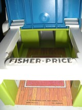 Vintage Fisher Price #985 Play Family Houseboat Complete/NEAR MINT! (M) image 6