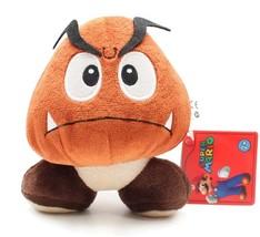Nintendo Super Mario Brothers Goomba 5 Inch Tall Plush Brand NEW! - $14.99