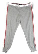 Large Tommy Hilfiger Women's Pajama Lounge Pants Casual Sleep Capri Side Stripe