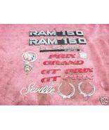 Bag of Misc Automobile Emblems - $9.30