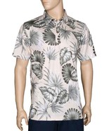 "Hilo Hattie™Men's Short Sleeve Wrinkle-Free Polo ""Palm Monstera"" Aloha P... - $54.31 CAD+"