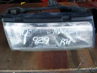 Rightside Headlight for 90-91Mazda 929